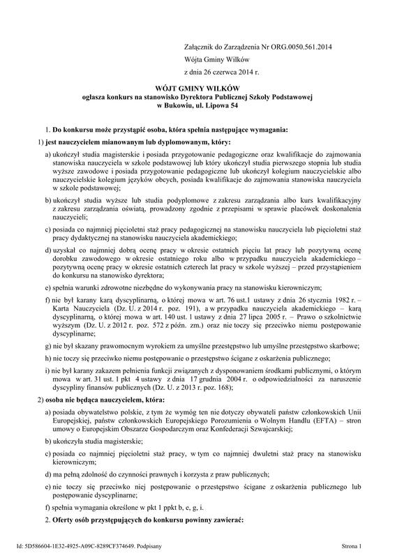 561 - ogłoszenie konkusru na stanowisko Dyrektora Publicznej Szkoły Podstawowej w Bukowiu_01.jpeg