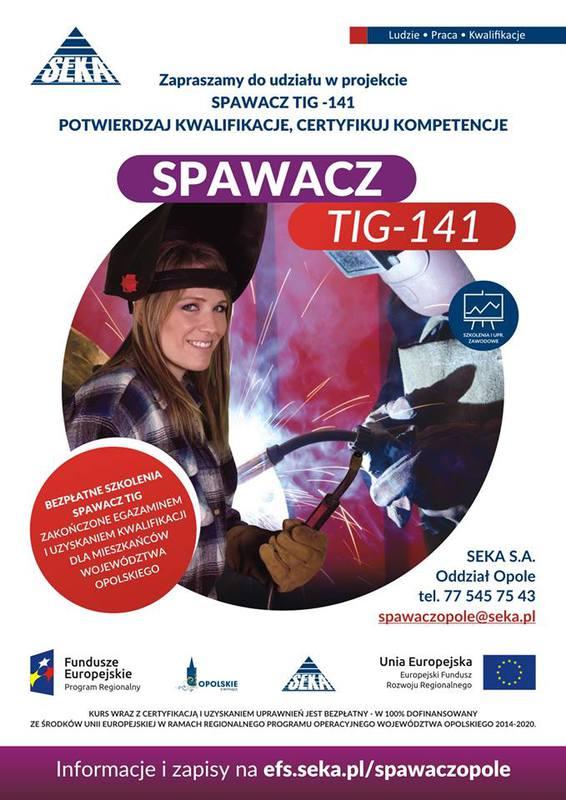 BEZPŁATNY Kurs Spawania TIG - 141 Opole2016.jpeg