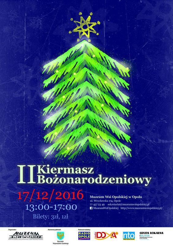 PlakatKiermaszBożonarodzeniowyOpole2016.jpeg