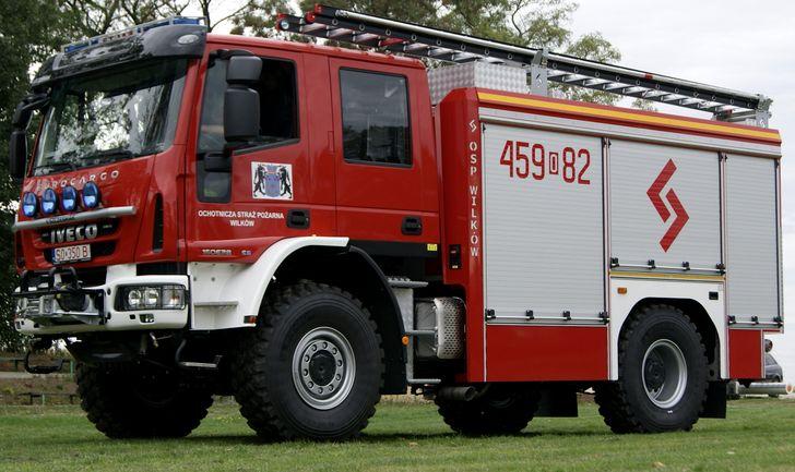 Zakupiony wóz pożarniczy Iveco Euro Cargo