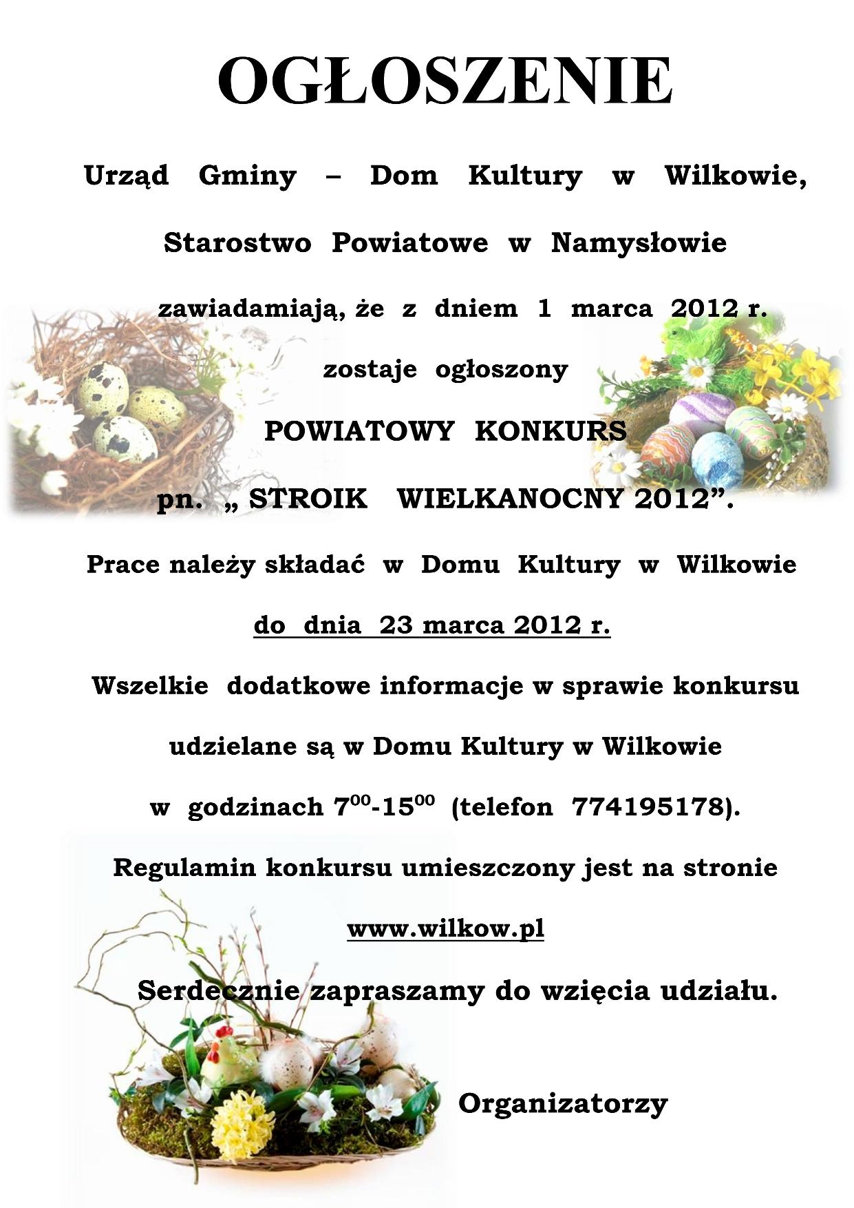 Ogłoszenie konkursu - stroik wielkanocny_01.jpeg