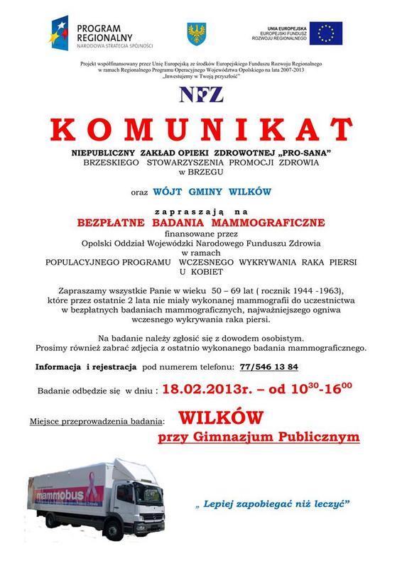 Komunikat o bad.mammograficznych w Gm.WilkĂlw_01.jpeg